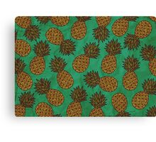 WATERCOLOUR EDITIONS - PINEAPPLE Canvas Print
