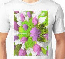 Shabby Chic Modern Vibe Abstract Unisex T-Shirt