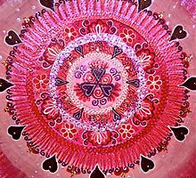 Mandala :  Pretty in Pink  by danita clark