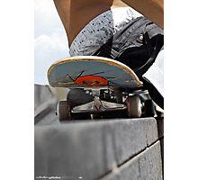 Skating - Detail Photographic Print