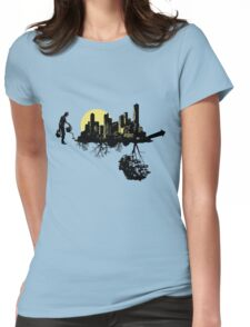 Green Growth Womens Fitted T-Shirt