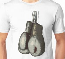 Vintage Boxing Gloves Unisex T-Shirt