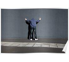 wall watchers around the world unite Poster