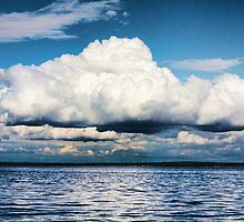 Above the Sea by nefetiti