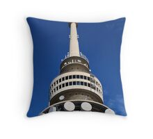 Black Mountain Tower Throw Pillow
