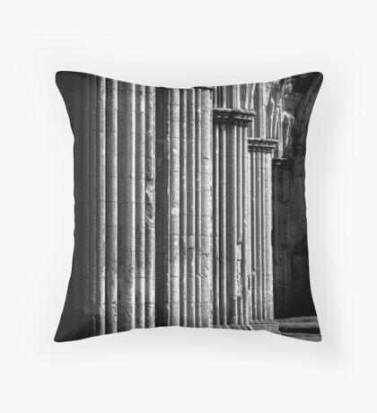 Rievaulx Abbey Throw Pillow