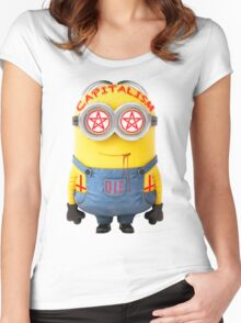 DEATH 2 MINIONS Women's Fitted Scoop T-Shirt