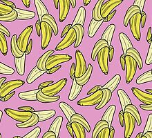 BANANA - PINK by tosojourn