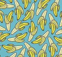 BANANA - BLUE by tosojourn