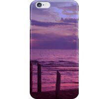 Sauble Beach at Dusk iPhone Case/Skin