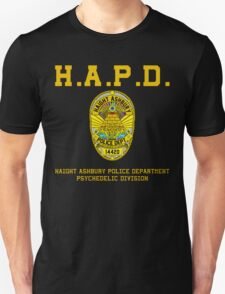 HAIGHT ASHBURY POLICE DEPT. color T-Shirt