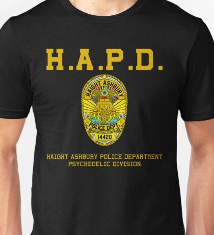 HAIGHT ASHBURY POLICE DEPT. color Unisex T-Shirt