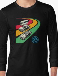vintage vw Long Sleeve T-Shirt