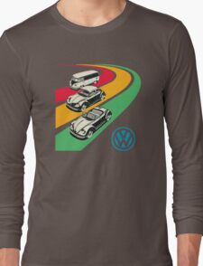 vintage vw Long Sleeve T-Shirt