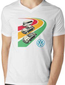 vintage vw Mens V-Neck T-Shirt