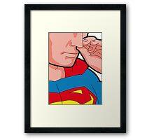 Super Picker Framed Print