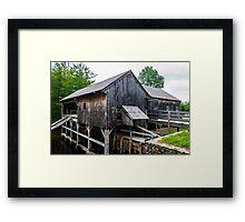 Sawmill at Sturbridge  Framed Print