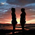 Girls silhouette in Sunset 13.06.10 by AlexKokas