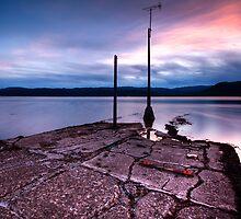 sundown @ loch fyne by patrick-mcdaid