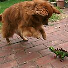 Jordan vs Dino by Sangeeta