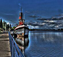 Old Tug Boat by Dave DelBen