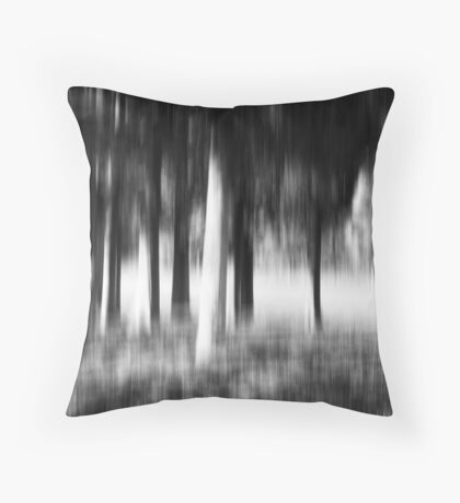 Stress is a Blur to life  Throw Pillow