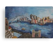 Marvel of Sydney Harbour Canvas Print