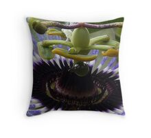Insect Playground Throw Pillow
