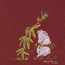Japanese Bunnies by Hilary Robinson