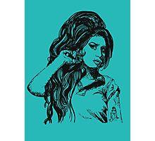Icon: Amy Winehouse Photographic Print
