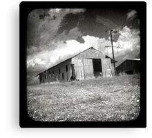 Outback Shed Canvas Print