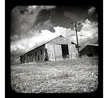 Outback Shed Photographic Print