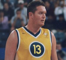 Luc Longley  by DamienGarth