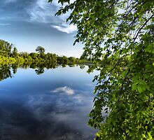perfect mirror by Cheryl Dunning