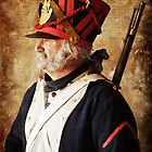 Profile of a Napoleonic Era Infantryman by David de Groot