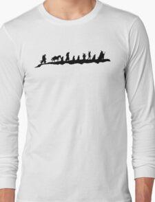 The Fellowship of The Ring (black) Long Sleeve T-Shirt