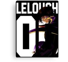 Lelouch 00 2 Canvas Print