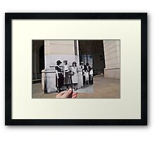 Looking Into the Past: Beauty Pageant Winners, Union Station, Washington, DC Framed Print