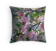 Bloomin Blossoms Throw Pillow