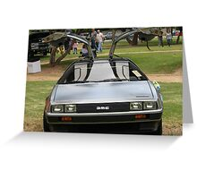 Back to the future..... Greeting Card