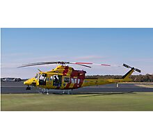 Westpac Rescue helicopter 0001 Photographic Print