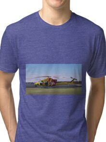 Westpac Rescue helicopter 0001 Tri-blend T-Shirt