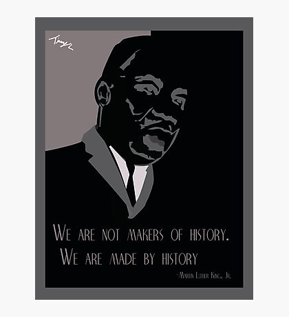 Martin Luther King Poster Photographic Print