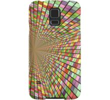 Colors and one central point. Samsung Galaxy Case/Skin