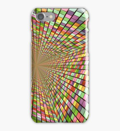 Colors and one central point. iPhone Case/Skin