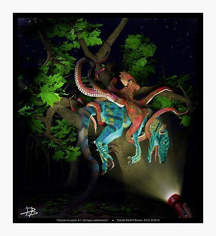 Ocean Invasion #1: Octopus arborealus Photographic Print