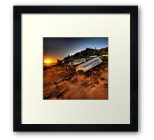 Lifes a Beach - Long Reef Aquatic Park, Sydney - The HDR Experience Framed Print