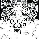 Lotus Levitation by eleveneleven