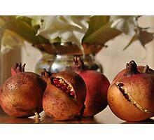 Pomegranates, Rutherglen, Australia Photographic Print