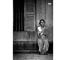 The Old Woman Photographic Print